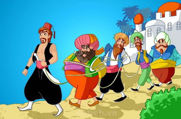 Ali Baba và 40 tên cướp - Truyện cổ tích thế giới đặc sắc