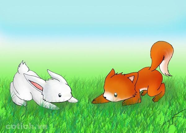 Chú thỏ thông minh và cáo - Truyện cổ tích hay cho bé