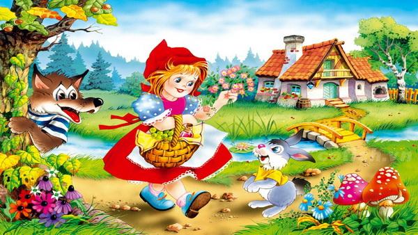 Cô bé quàng khăn đỏ - Truyện cổ tích nổi tiếng nhất thế giới