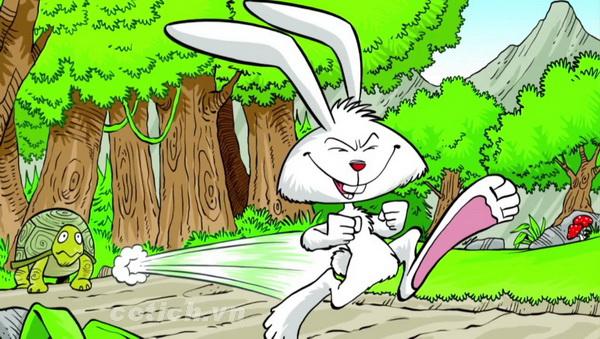 Rùa và thỏ truyện ngụ ngôn ý nghĩa cho người bền chí