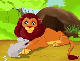 Sư tử và chuột nhắt – Truyện ngụ ngôn ý nghĩa cho bé