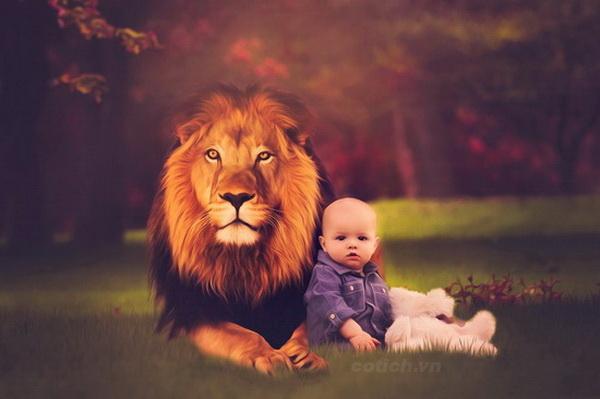 Cậu bé và bức tranh sư tử - Truyện ngụ ngôn ý nghĩa dành cho bé