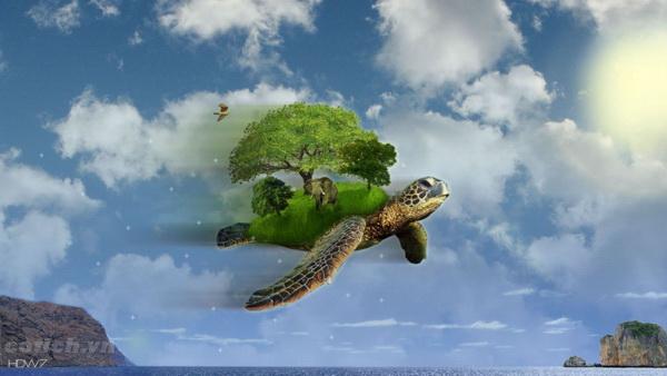 Rùa học bay - Truyện ngụ ngôn ý nghĩa cho bé