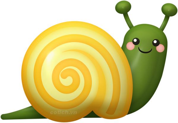 Sự tích con ốc sên - Bài học ý nghĩa từ chiếc vỏ ốc